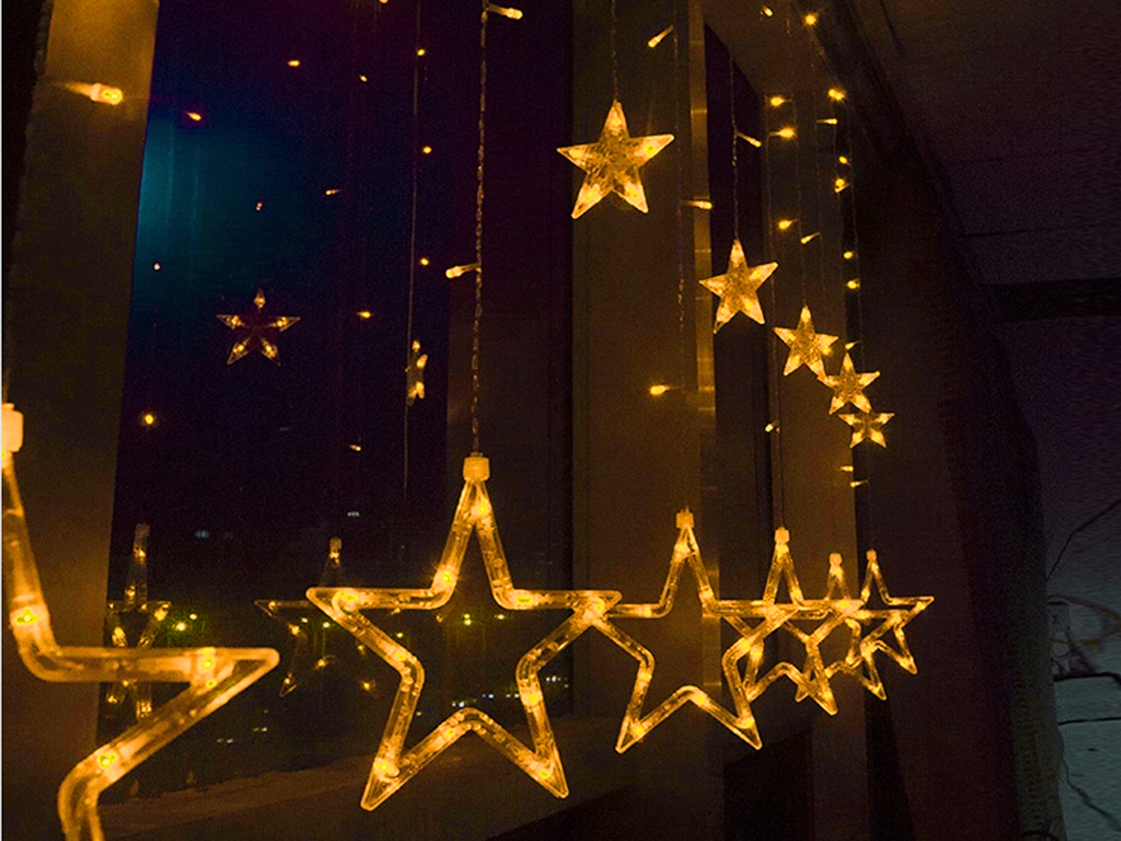 2M Stars LED String Fairy Light Christmas Xmas Party Wedding Decor 220-240V eBay