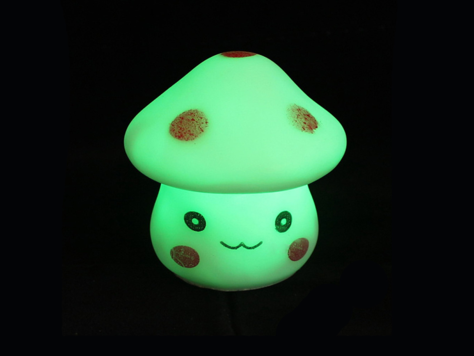 Cut Color Changing Mushroom Led Night Light Lamp Party